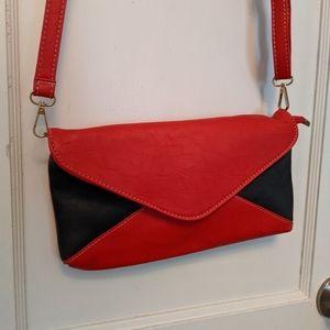 Red & Black Envelope Purse